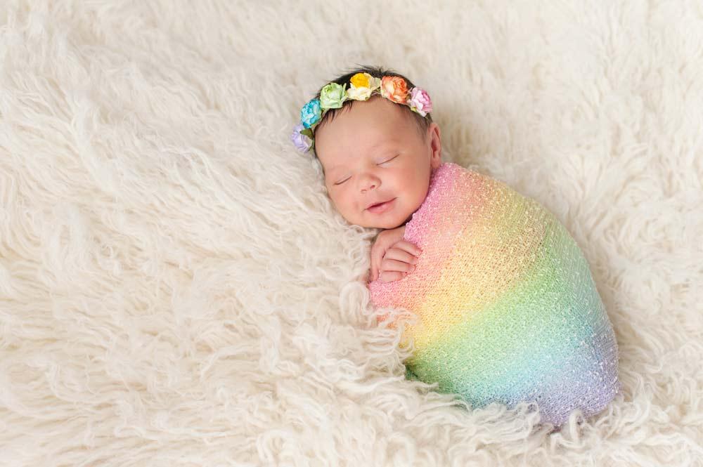 Bebê arco-iris: vencendo a alteração do cariótipo.