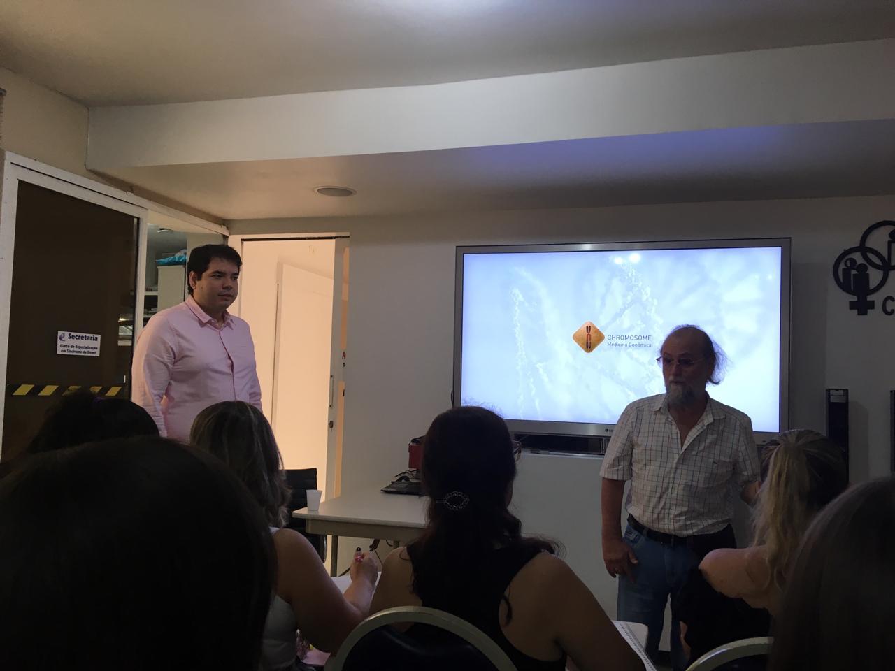 palestra síndrome de down caio graco bruzaca zan mustacchi aula palestra sobre genética